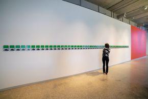 2020 Core Exhibition / Qais Assali / Odd billboard on Post and 52