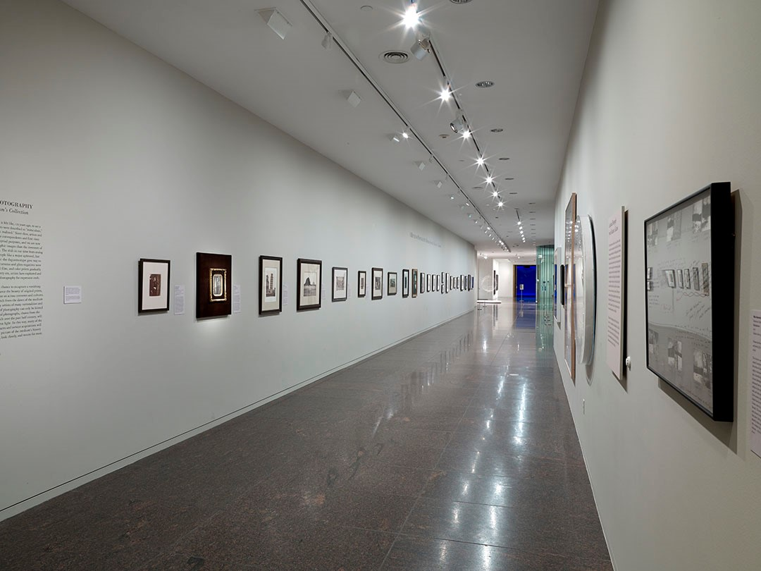 a history of photography II rotation - installation shot