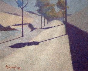Achille Laugé - La route