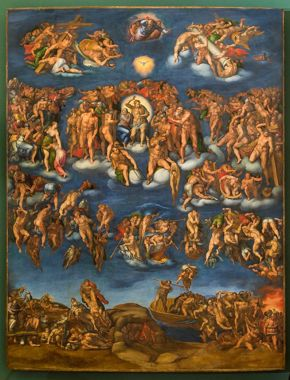 After Michelangelo - Last Judgment