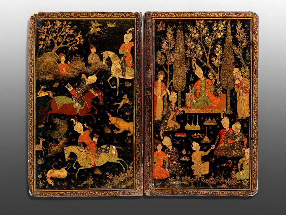 Attributed to Aqa Mirak, Book Binding, late 16th century
