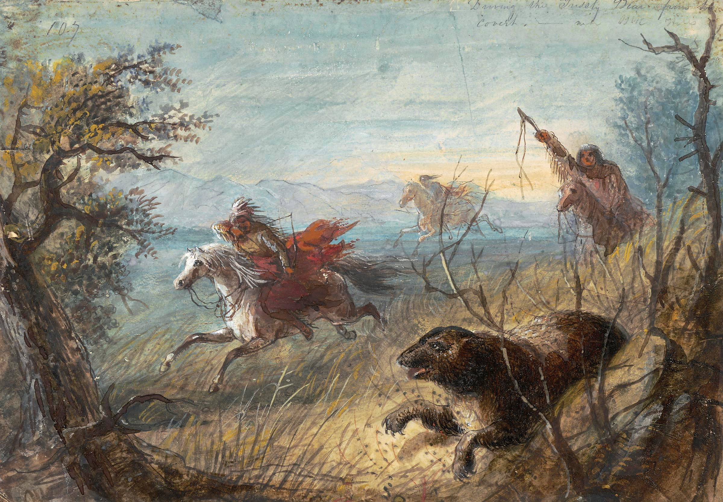 romancing the west  alfred jacob miller in the bank of