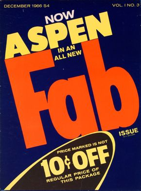 Andy Warhol and David Dalton, Aspen: The Magazine in a Box, Vol. 1, no. 3,