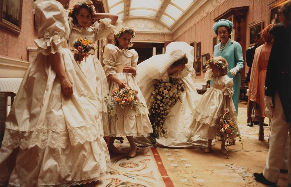 Anson - India Hicks, Sarah-Jane Gaselee, Diana, Clementin Hambro, Queen Elizabeth II