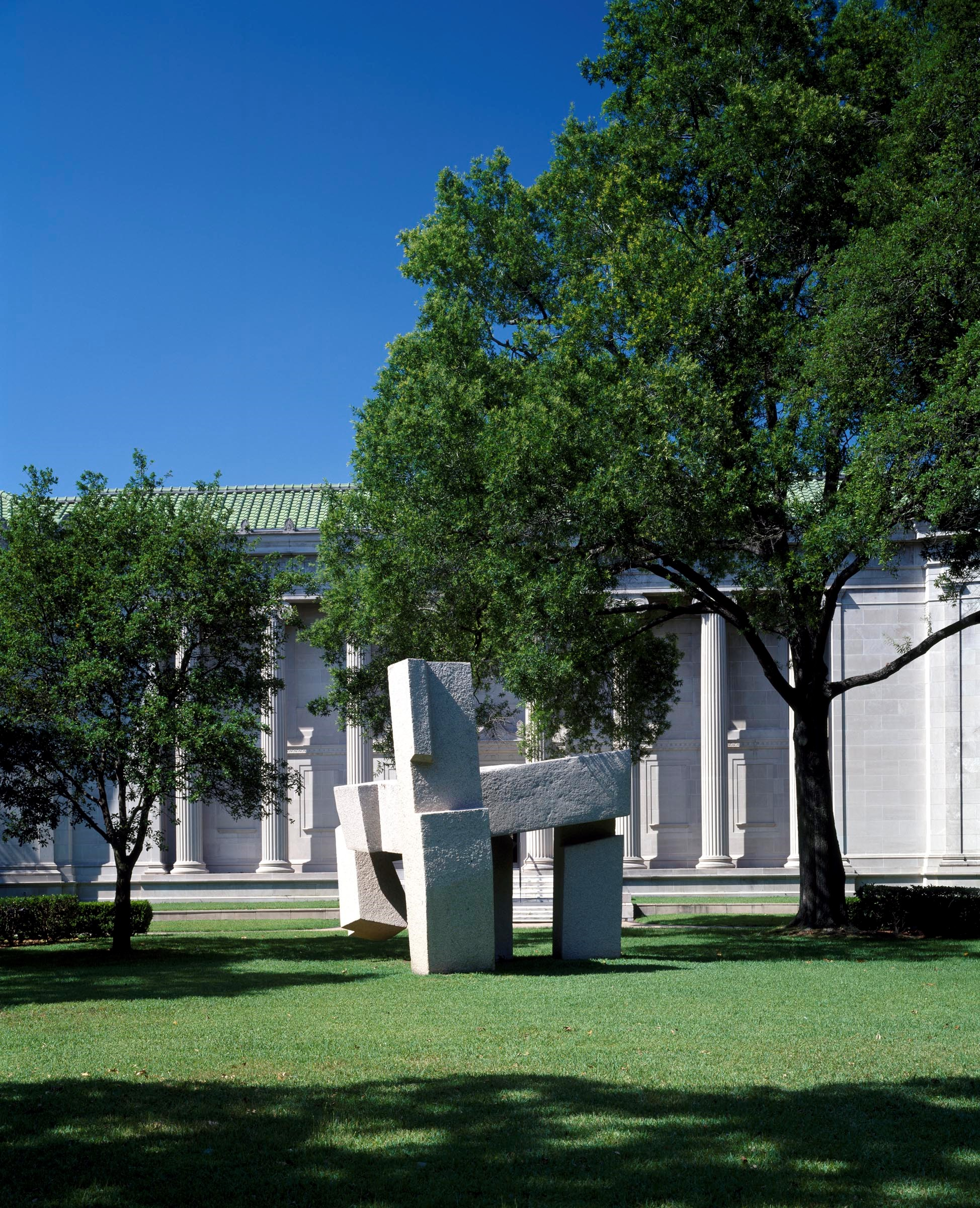 Archives Lawn with Chillida