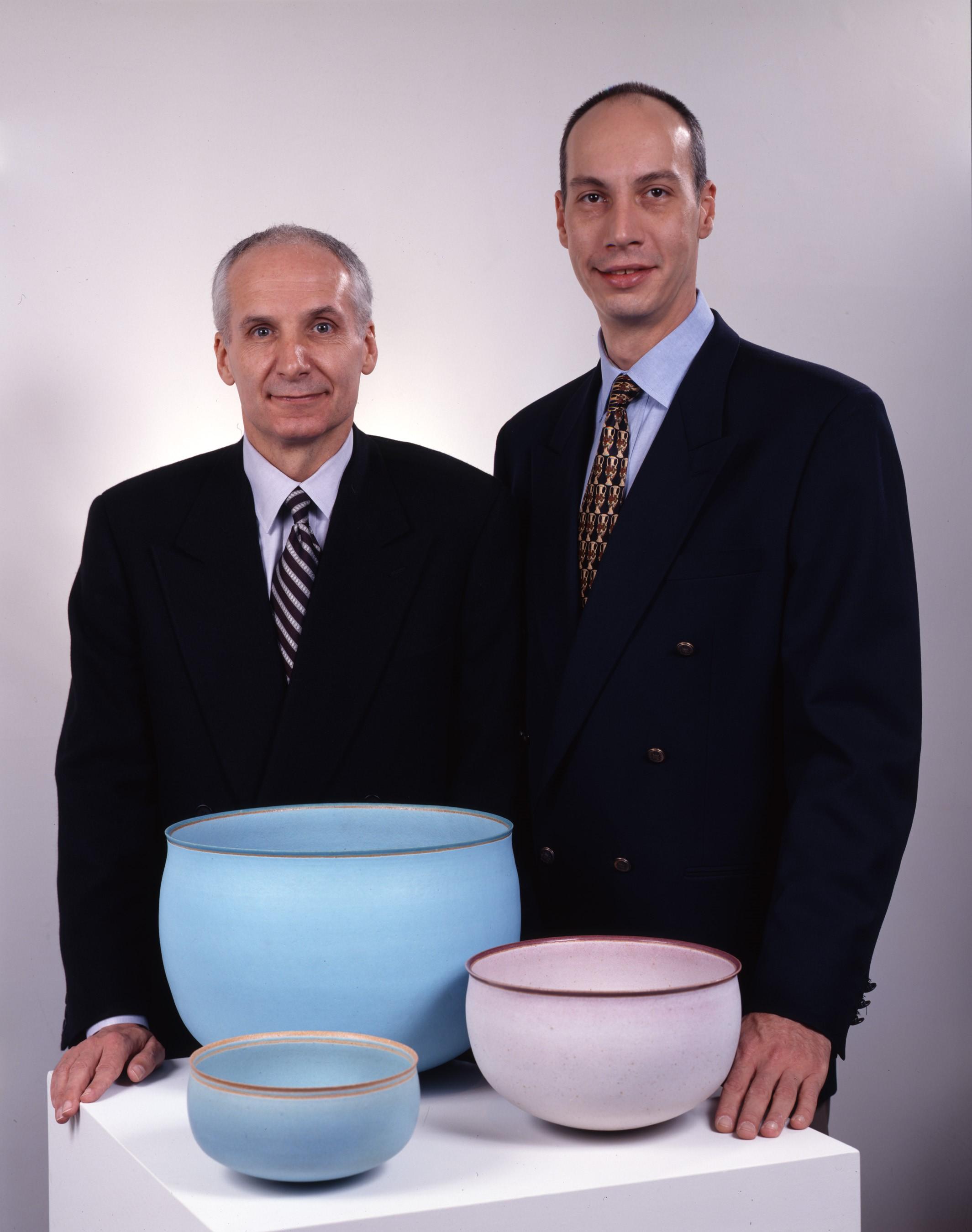 Archives Portrait Garth Clark and mark Del Vecchio