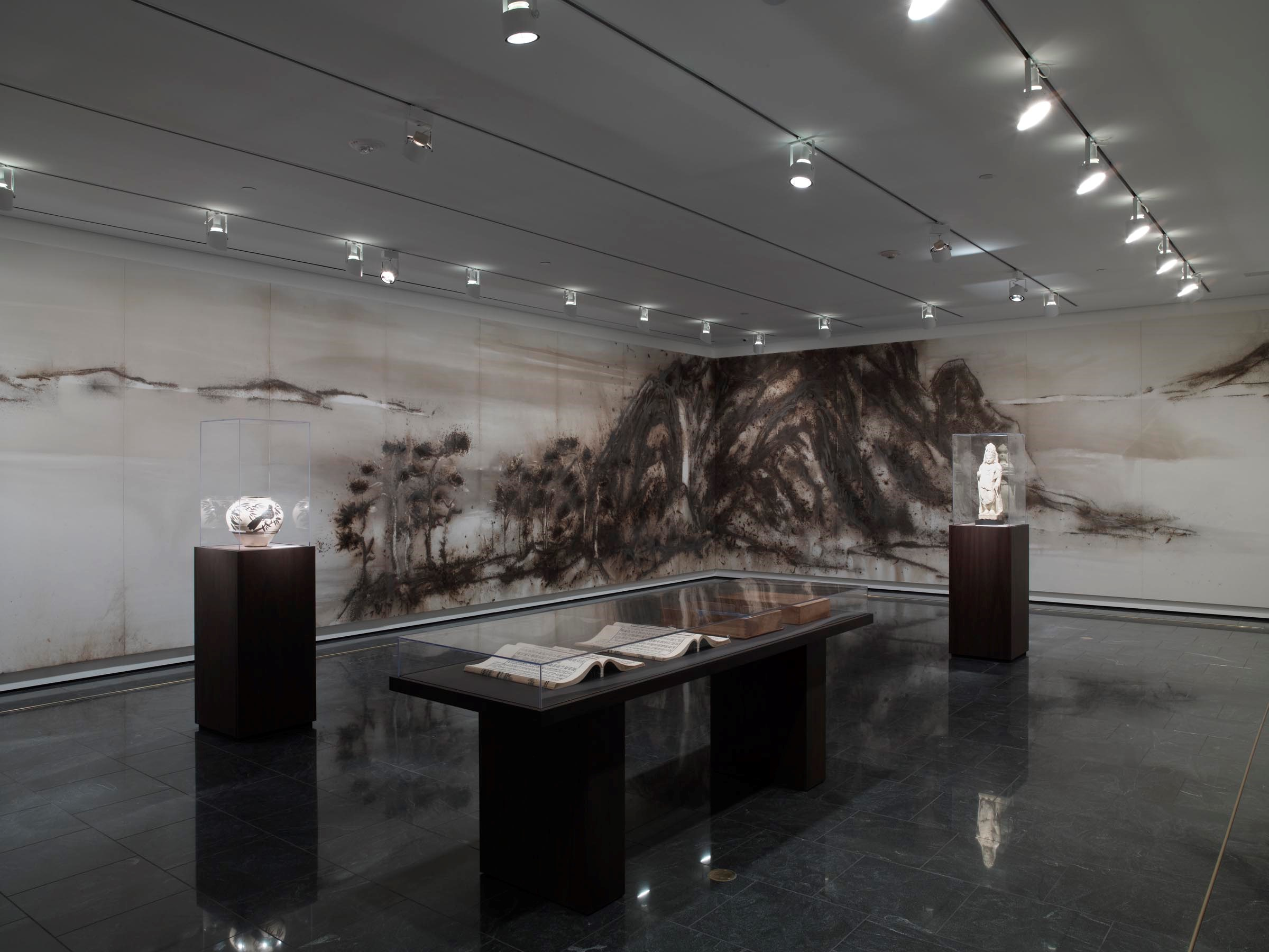 Arts of China galleries installation shot 2