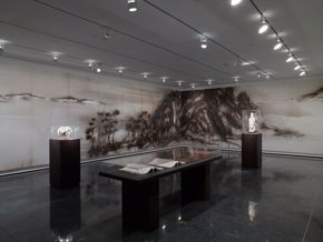 Arts of China galleries installation shot 2