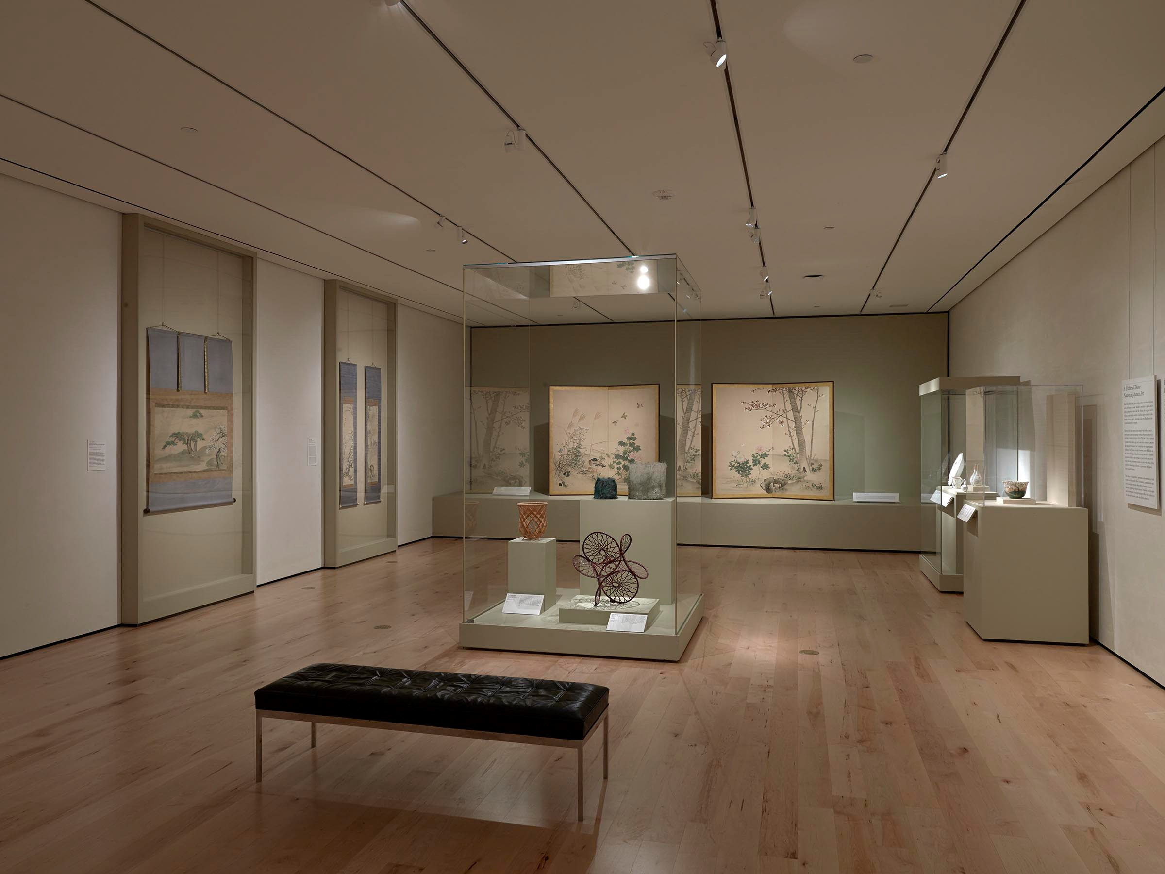 Arts of Japan gallery - installation view