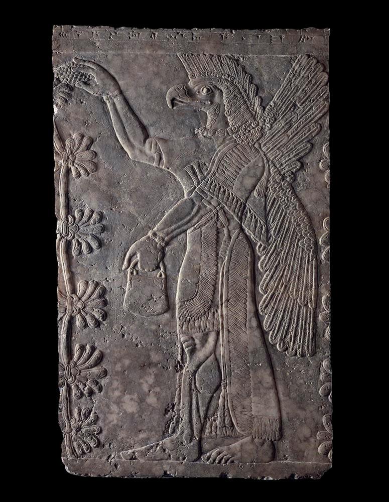 Assyrian - Guardian Figure
