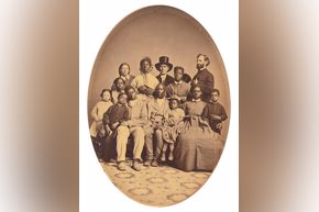 Ball - Levi Coffin and Underground Railroad Passengers