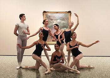 Houston Ballet Academy students