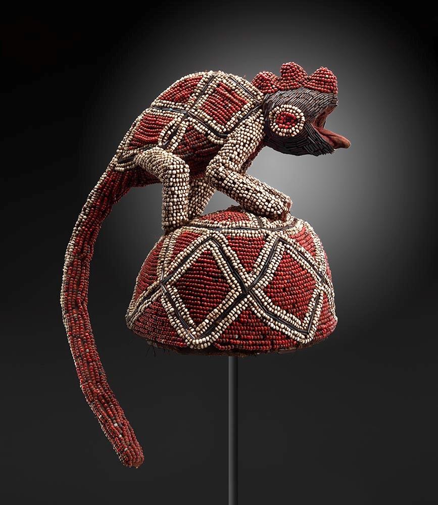 Bamileke - Chief's Ceremonial Hat