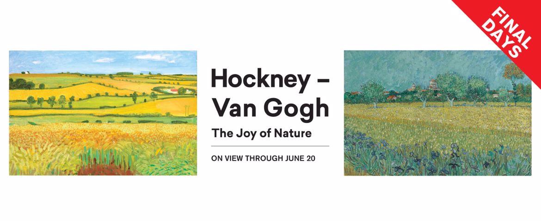 Hockney – Van Gogh: The Joy of Nature