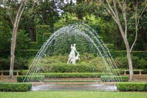 Bayou Bend Diana Garden / fountain