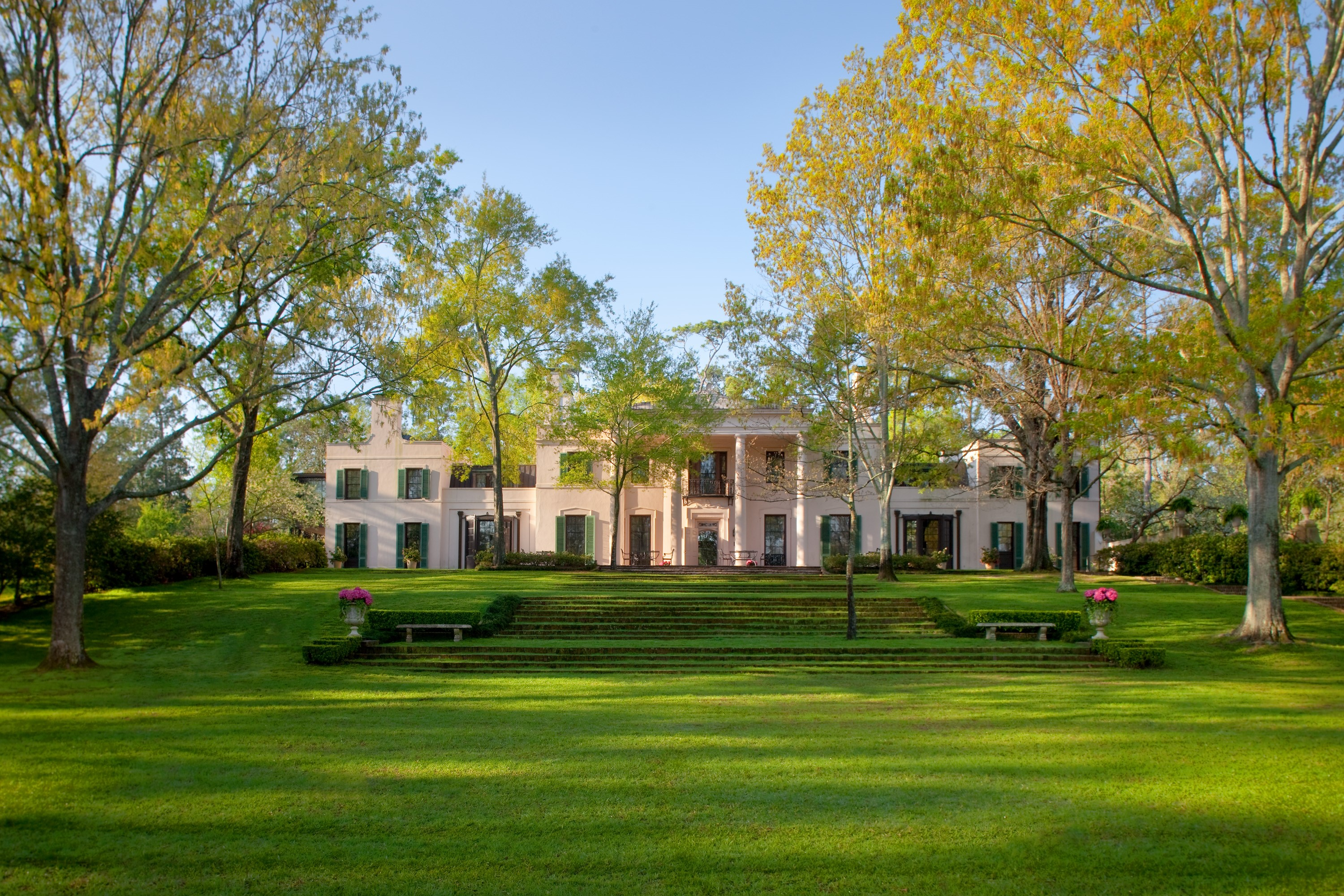 Bayou Bend exterior facade for architectural page - north