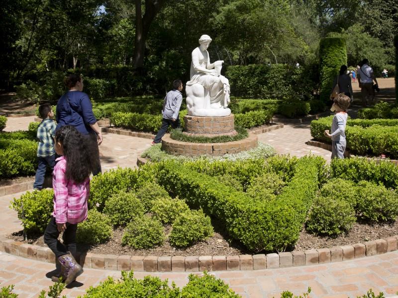 Bayou Bend Family Day - Clio garden
