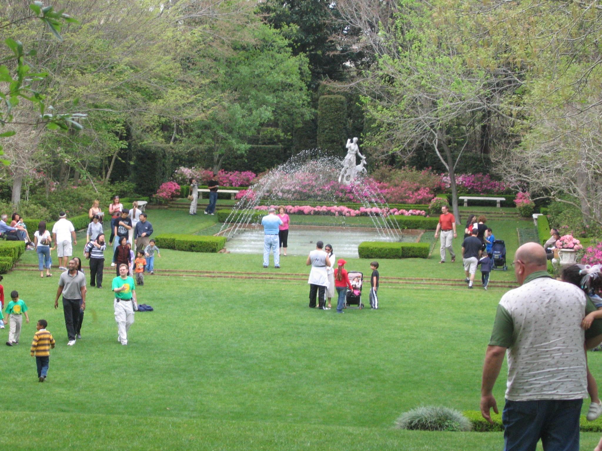Bayou Bend family gardens