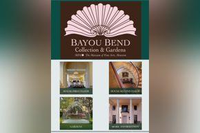 Bayou Bend Mobile Tour | home screen