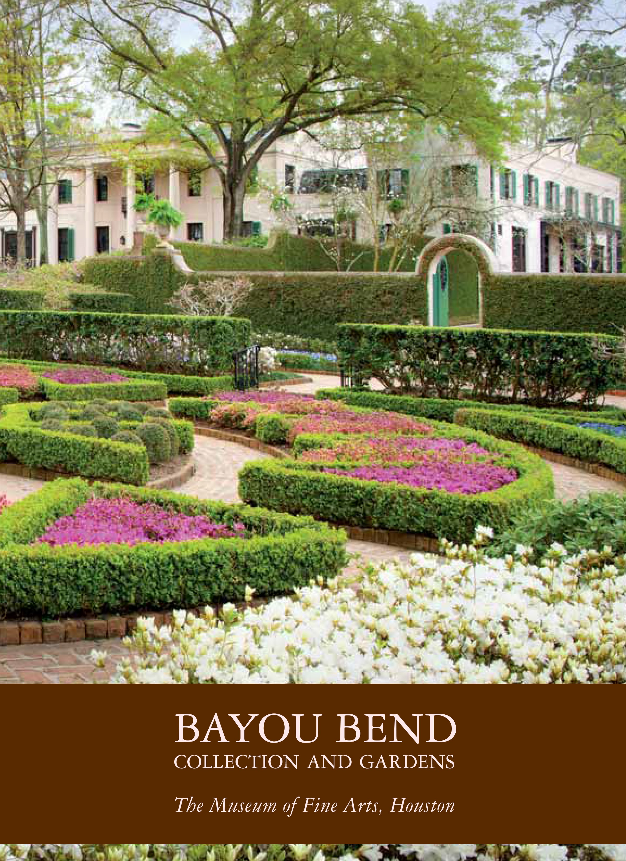 bayou bend souvenir book cover