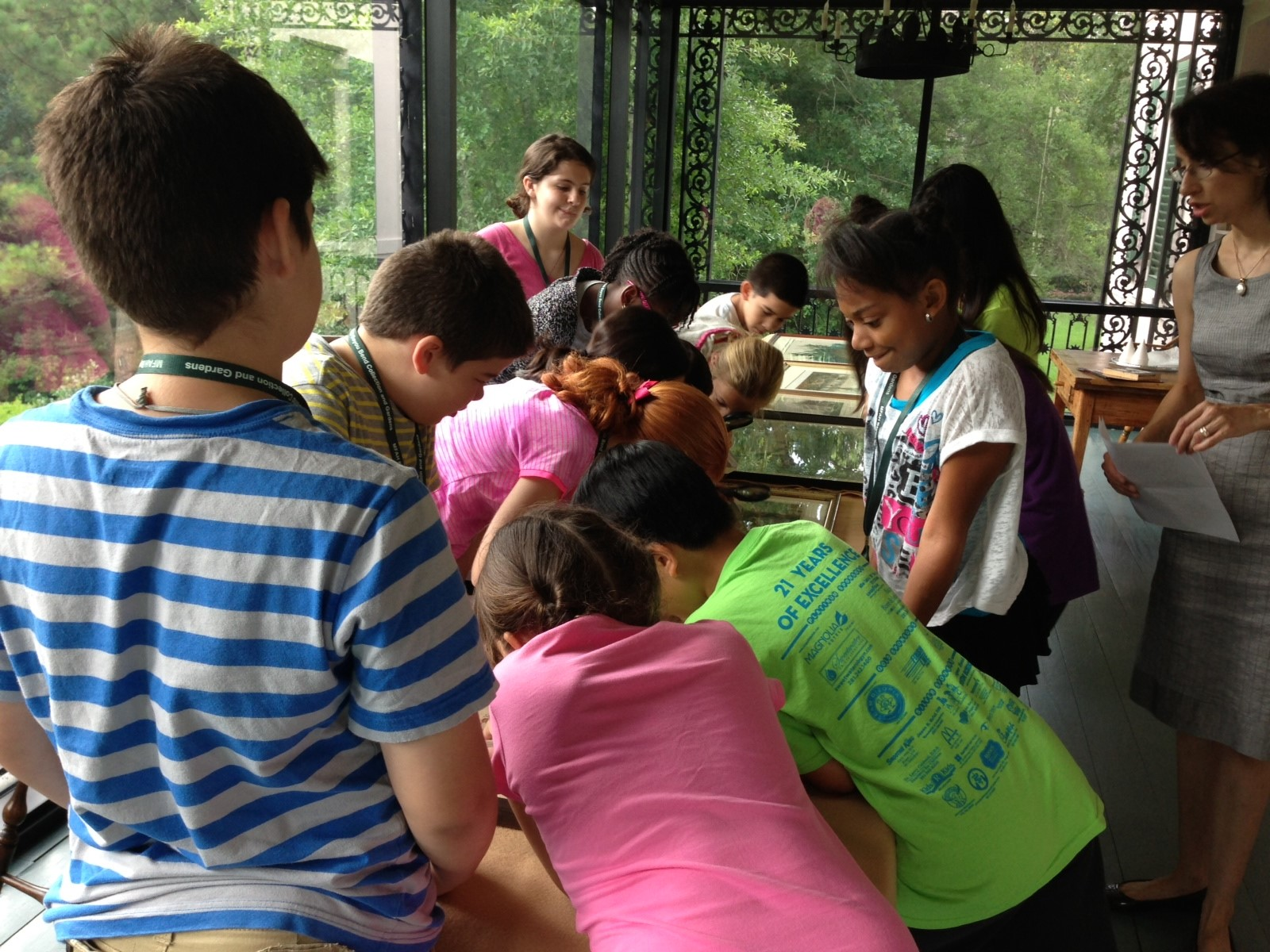 bayou bend summer history camp