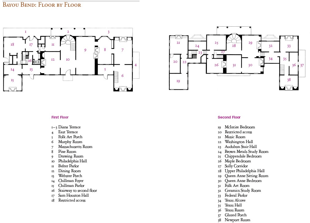 BB Souvenir Book Interior_Room Map