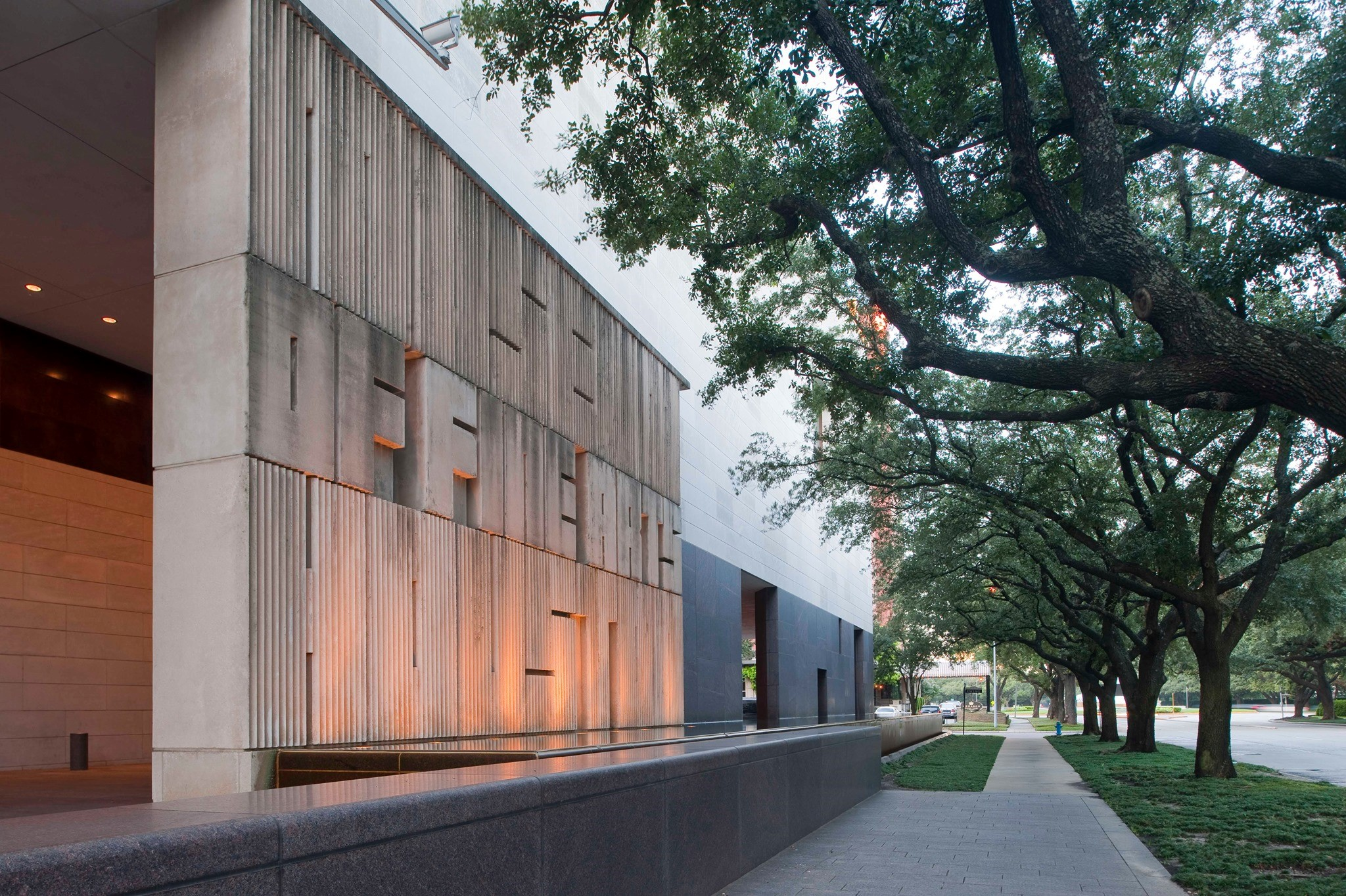 Beck Building | MFAH letters | Main St