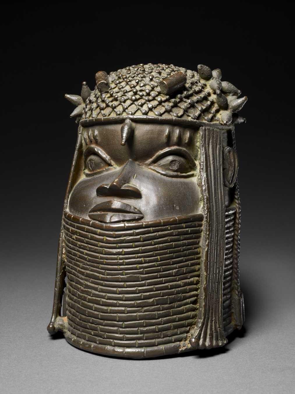 Edo peoples, Benin Kingdom, Commemorative Head of a King, 1500–1700
