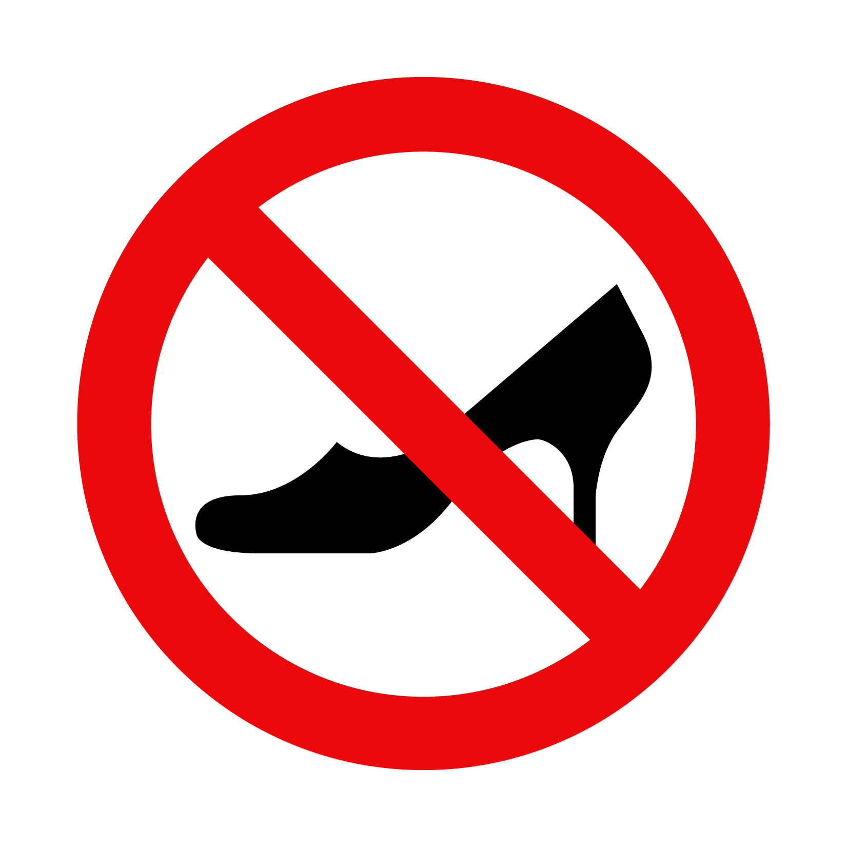 No heels