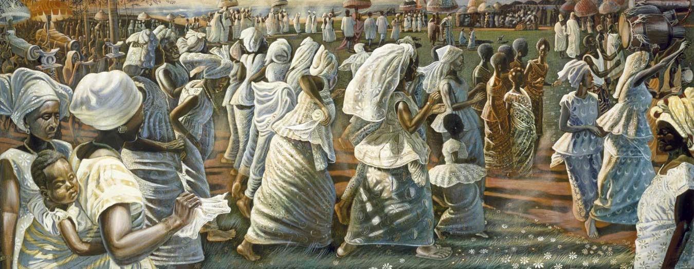 John Biggers, Jubilee: Ghana Harvest Festival