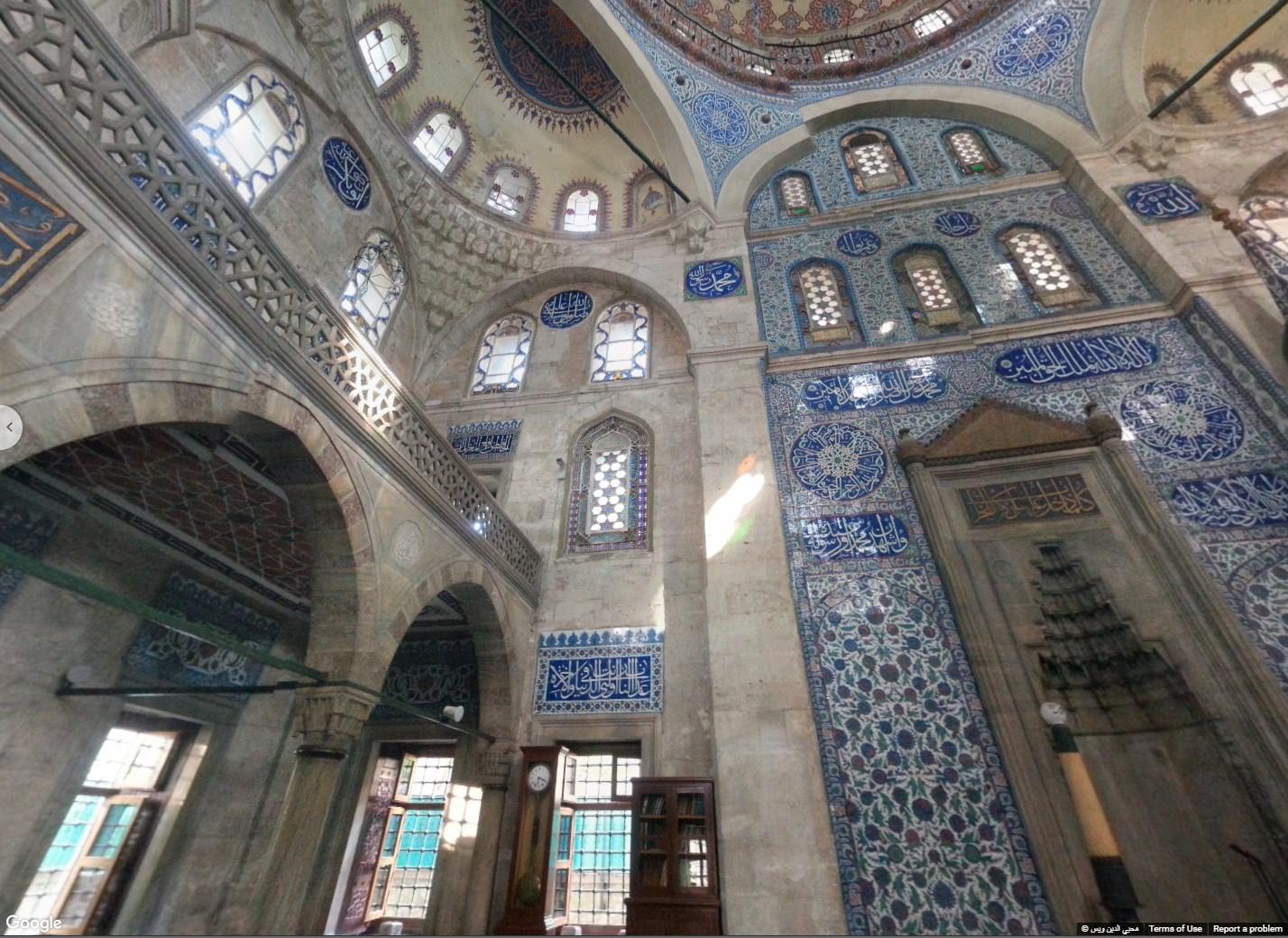 Sokollu Mehmet Pasha Mosque in present-day Istanbul, Turkey