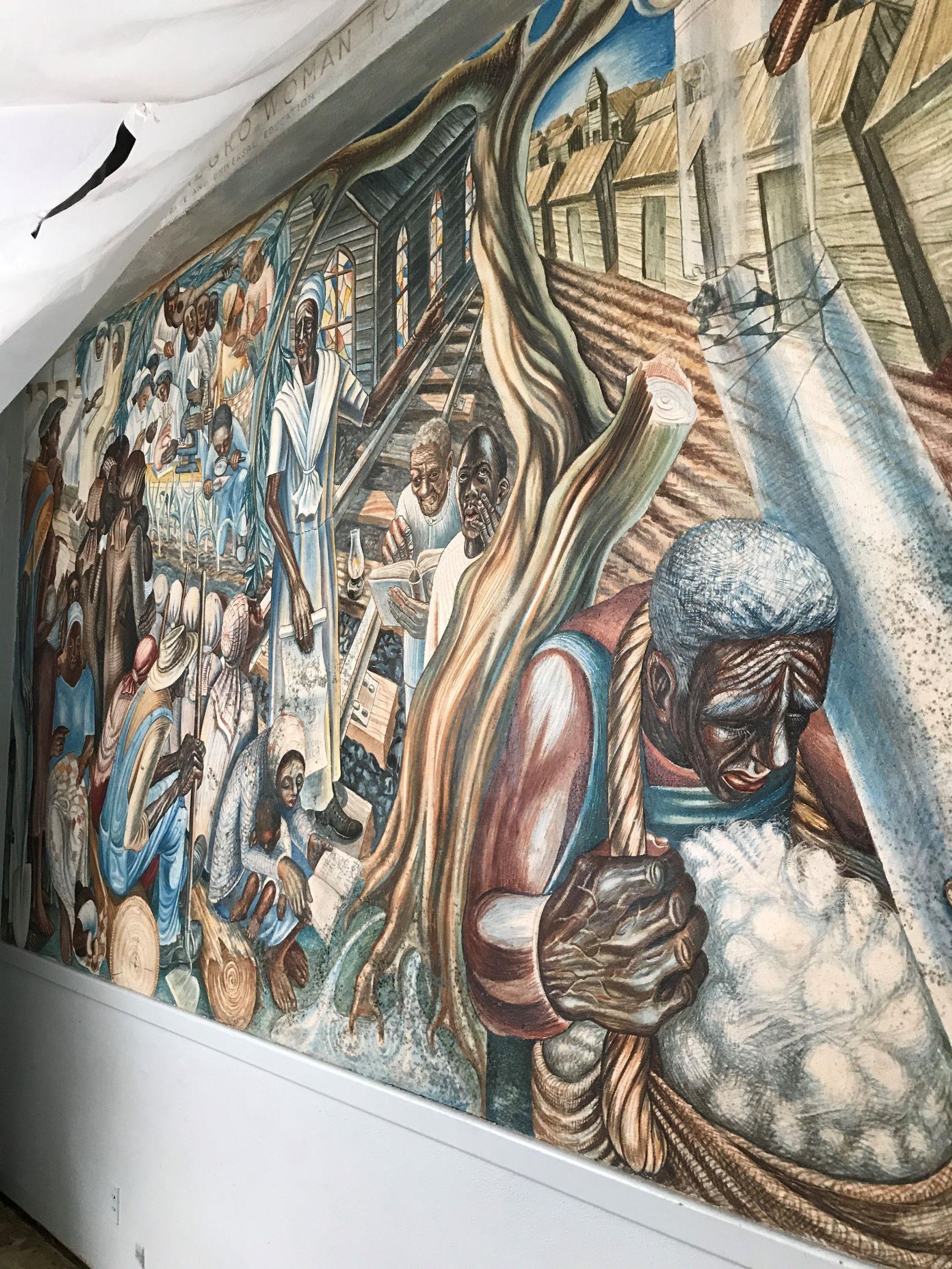 blog post / Harvey mural