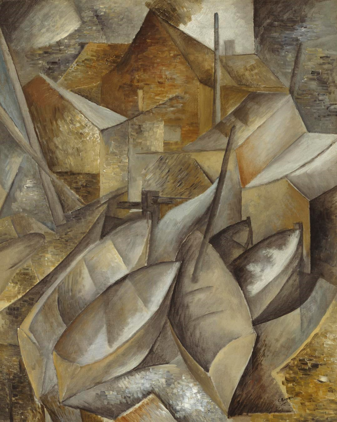 Georges braque a retrospective the museum of fine arts for Braque oeuvres