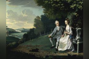 British, Portrait of a Couple, 1776, oil on canvas
