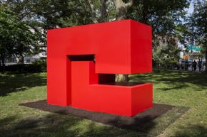 Carmen Herrera | Untitled Estructura (Red)