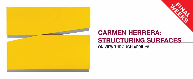 Carmen Herrera: Structuring Surfaces