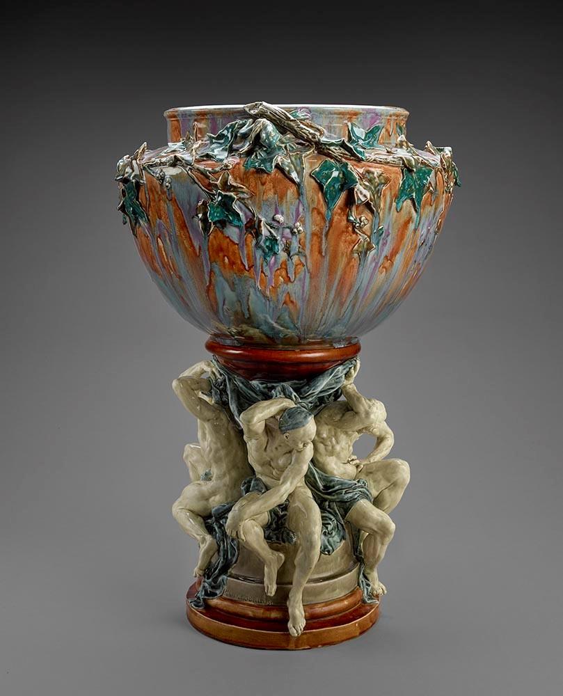 Carrier-Belleuse, Auguste Rodin - Vase of the Titans