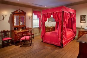 Chippendale Bedroom at Bayou Bend 2019