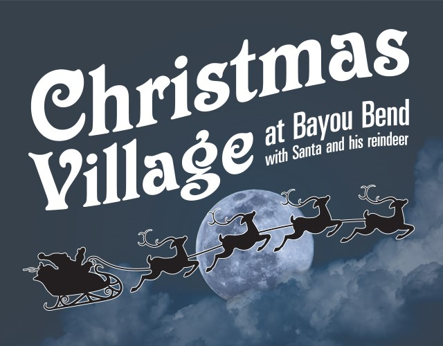 christmas village lead graphic - Christmas In The Bayou