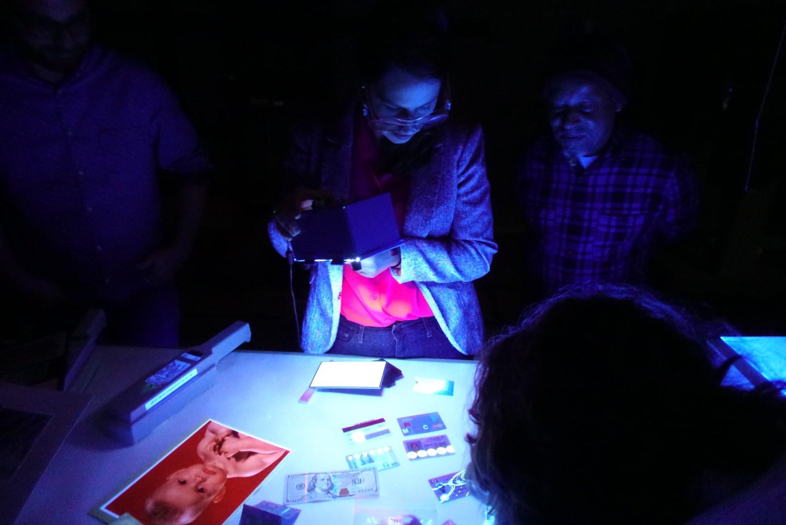 Conservation UV imaging blog - imaging lamp