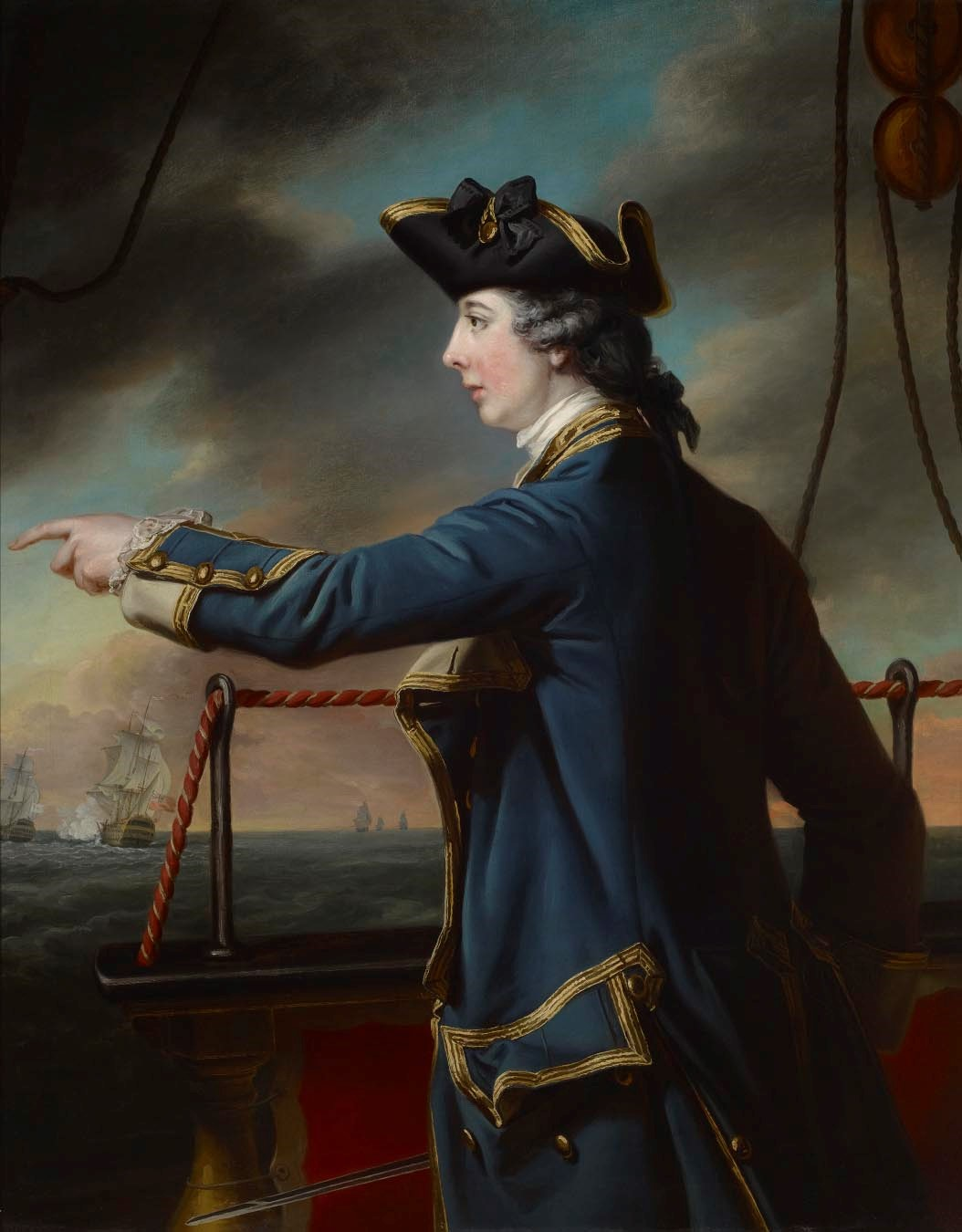 Cotes- Portrait of Captain Edward Knowles