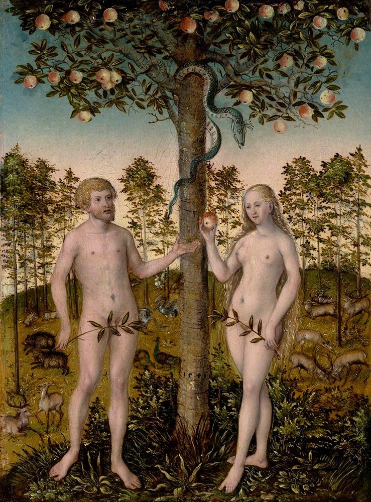 Cranach - Fall of Man