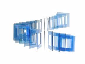 Crespin- Tetra Circular Azul