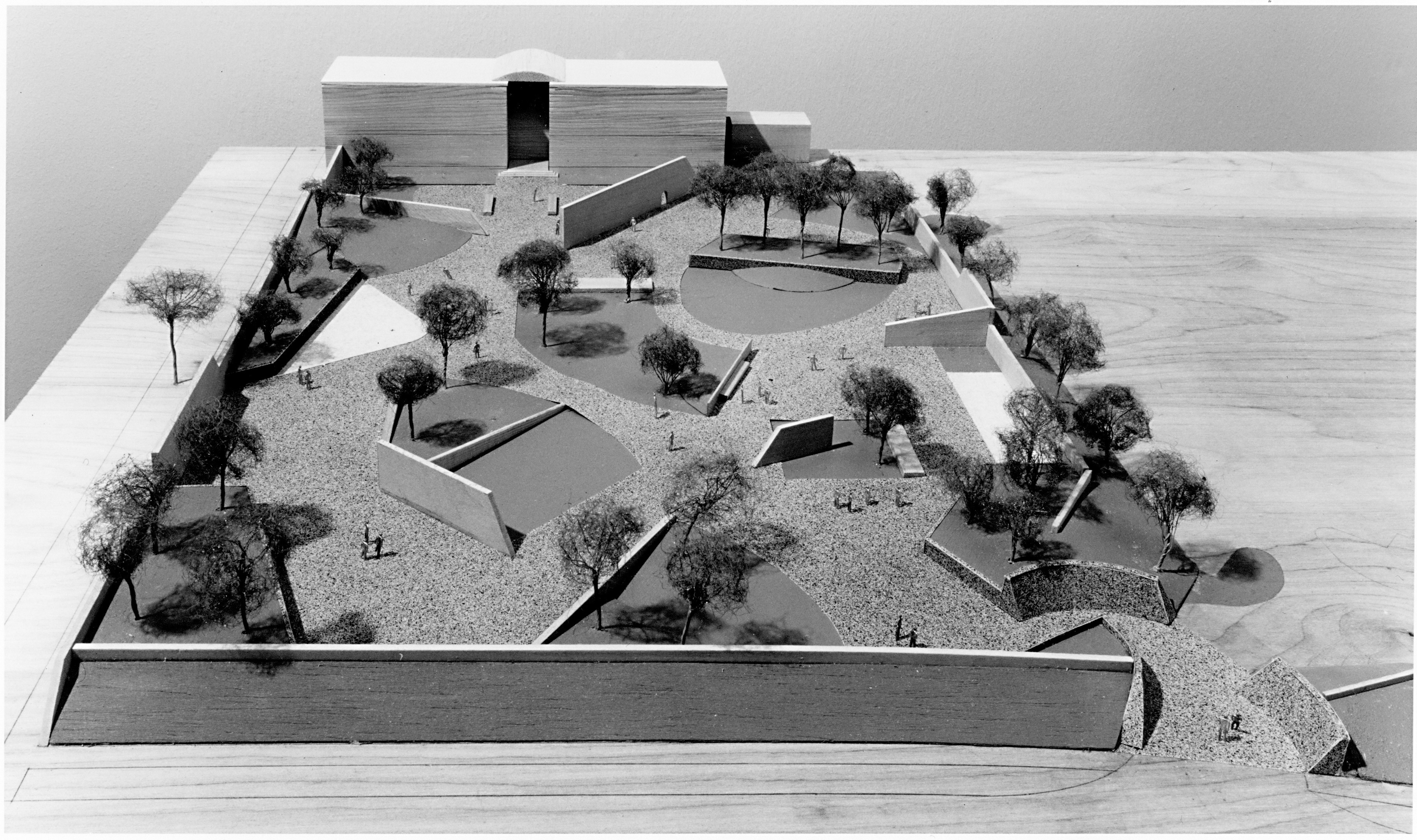 The mfah an architectural history the museum of fine - Lillie and hugh roy cullen sculpture garden ...