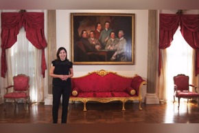 Curator Kaylin Weber at Rienzi | The Hand That Was Not Called