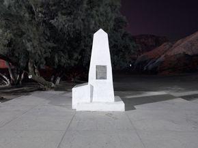 David Taylor, Border Monument No. 1, 2009, inkjet print