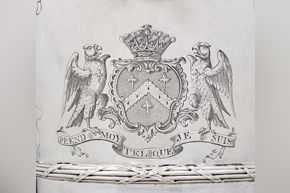 de Lamerie - Ewer (detail of engraving)