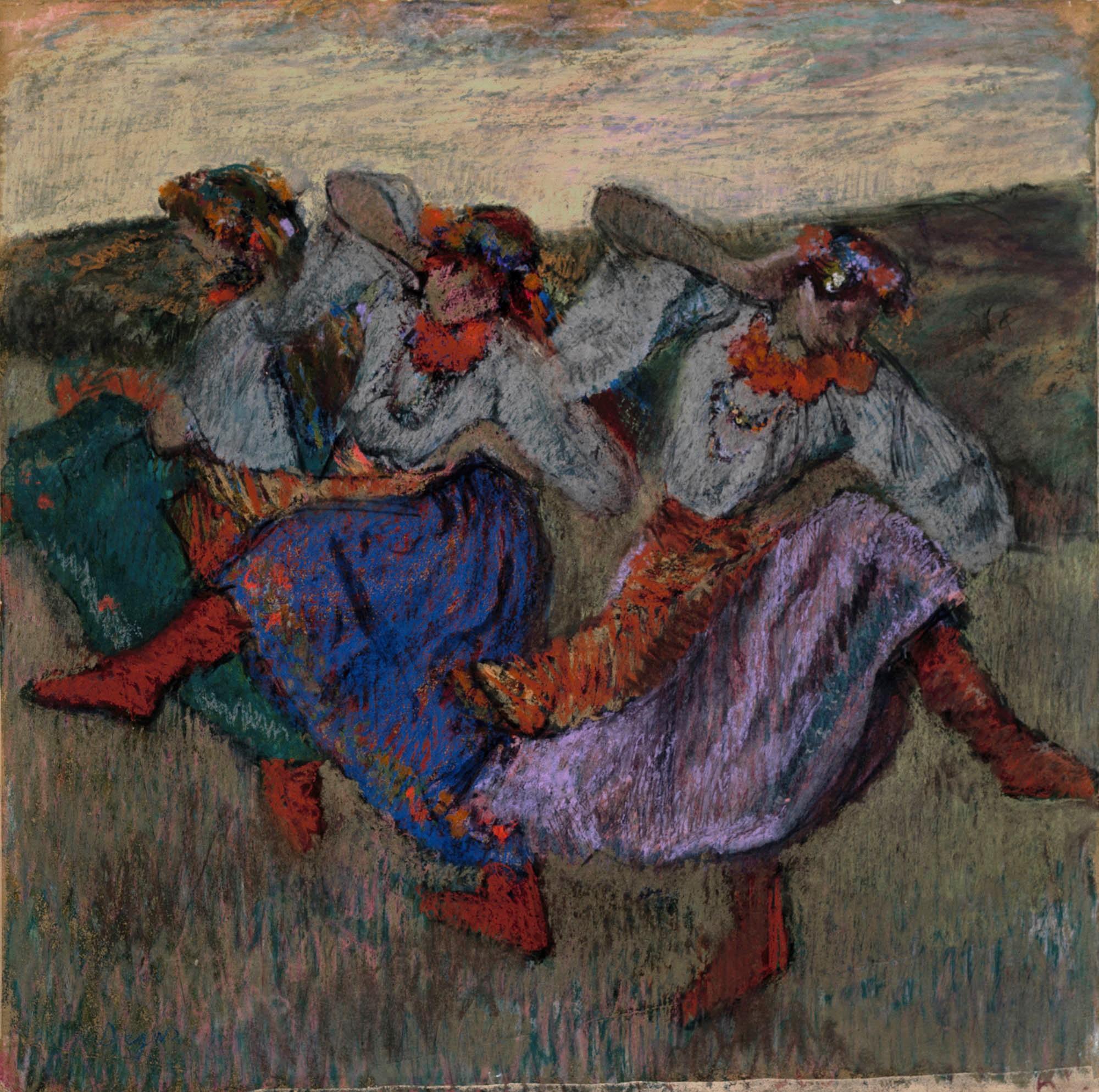Edgar Degas, Russian Dancers, c. 1899
