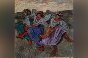 Degas - Russian Dancers