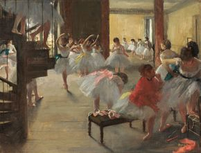 Degas - The Dance Class